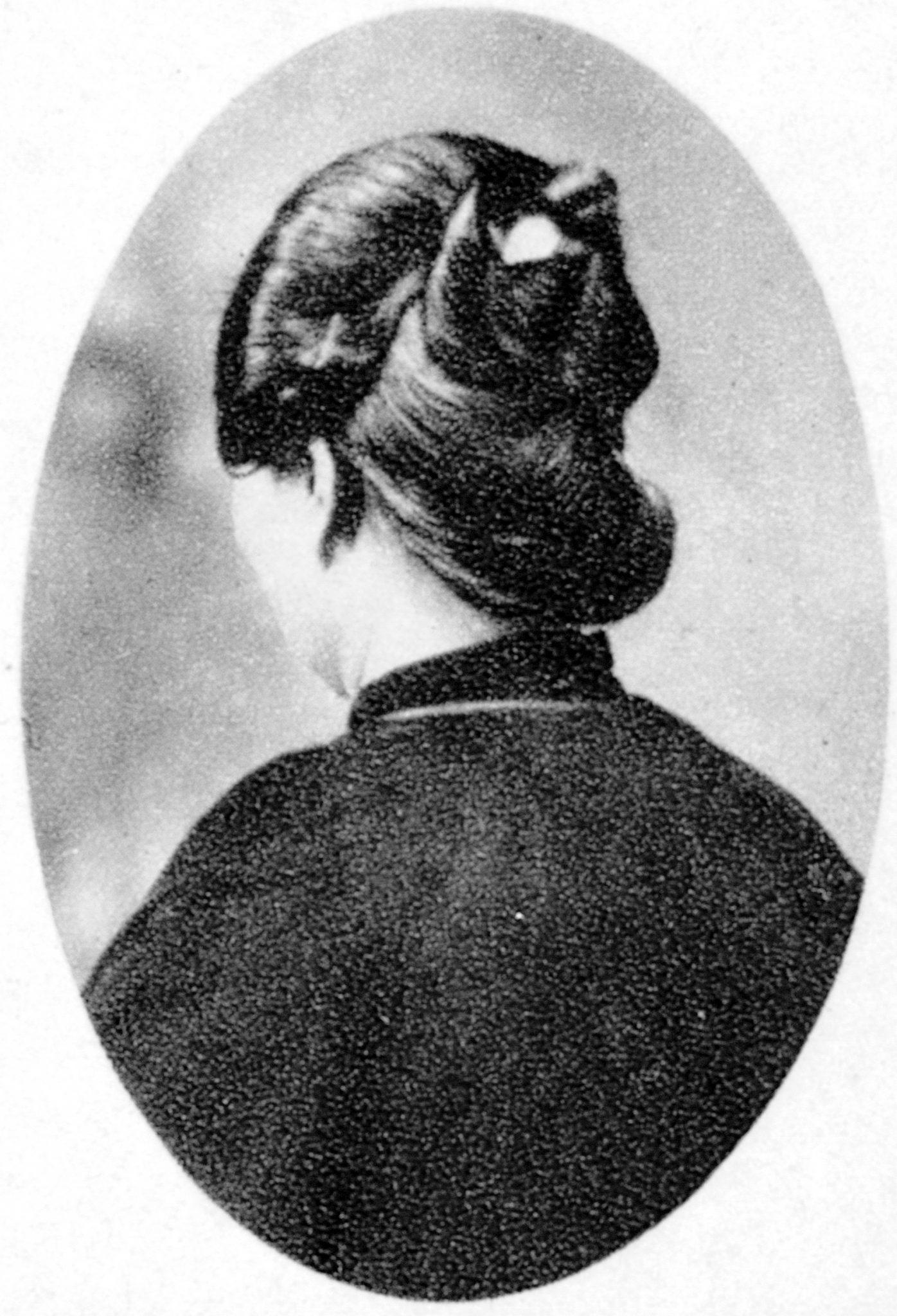 台灣女子髮髻